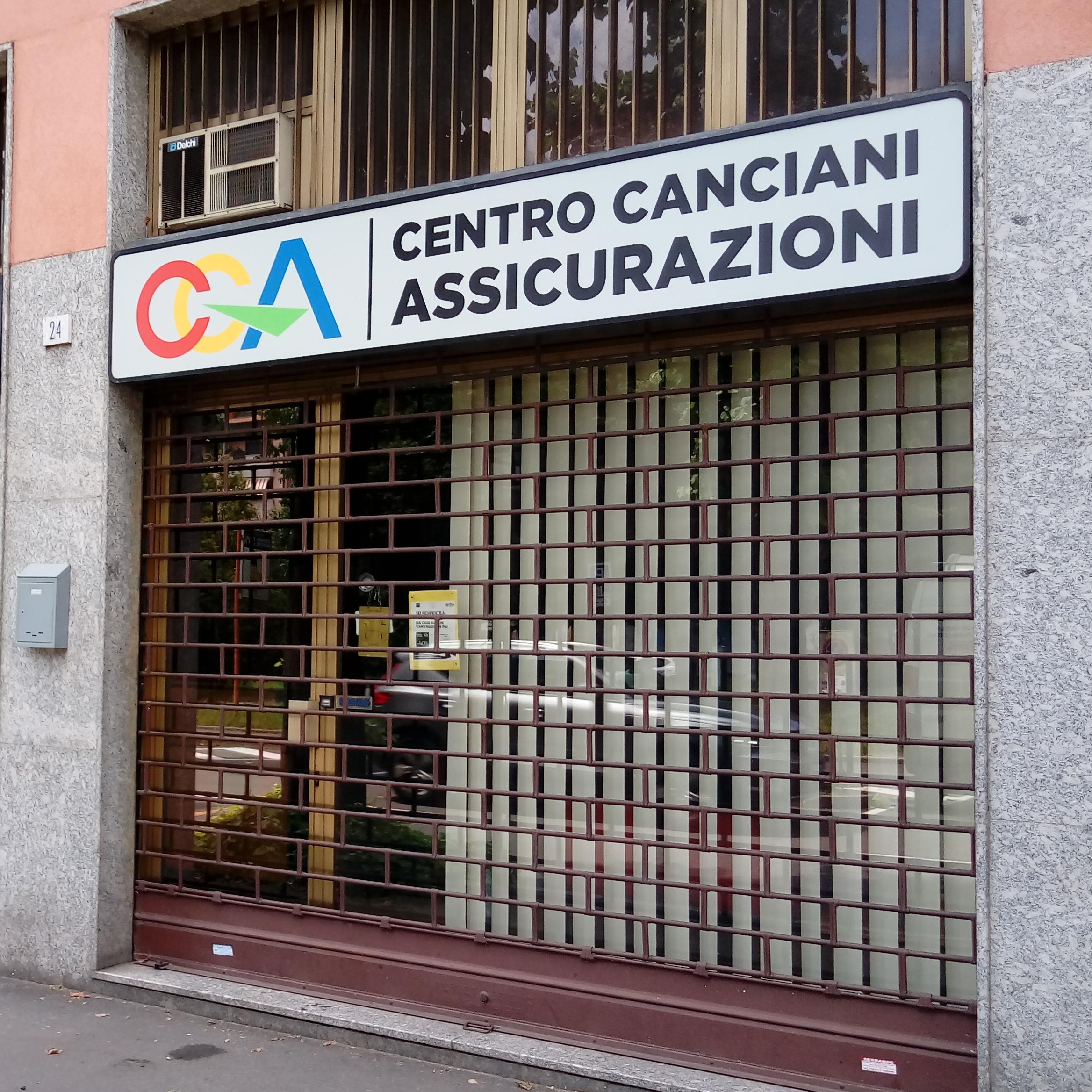 Insegna cassonetto retoilluminato - CENTRO CANCIANI ASSICURAZIONI