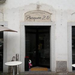 Insegna lamiera fresata - PASQUEE 2.0